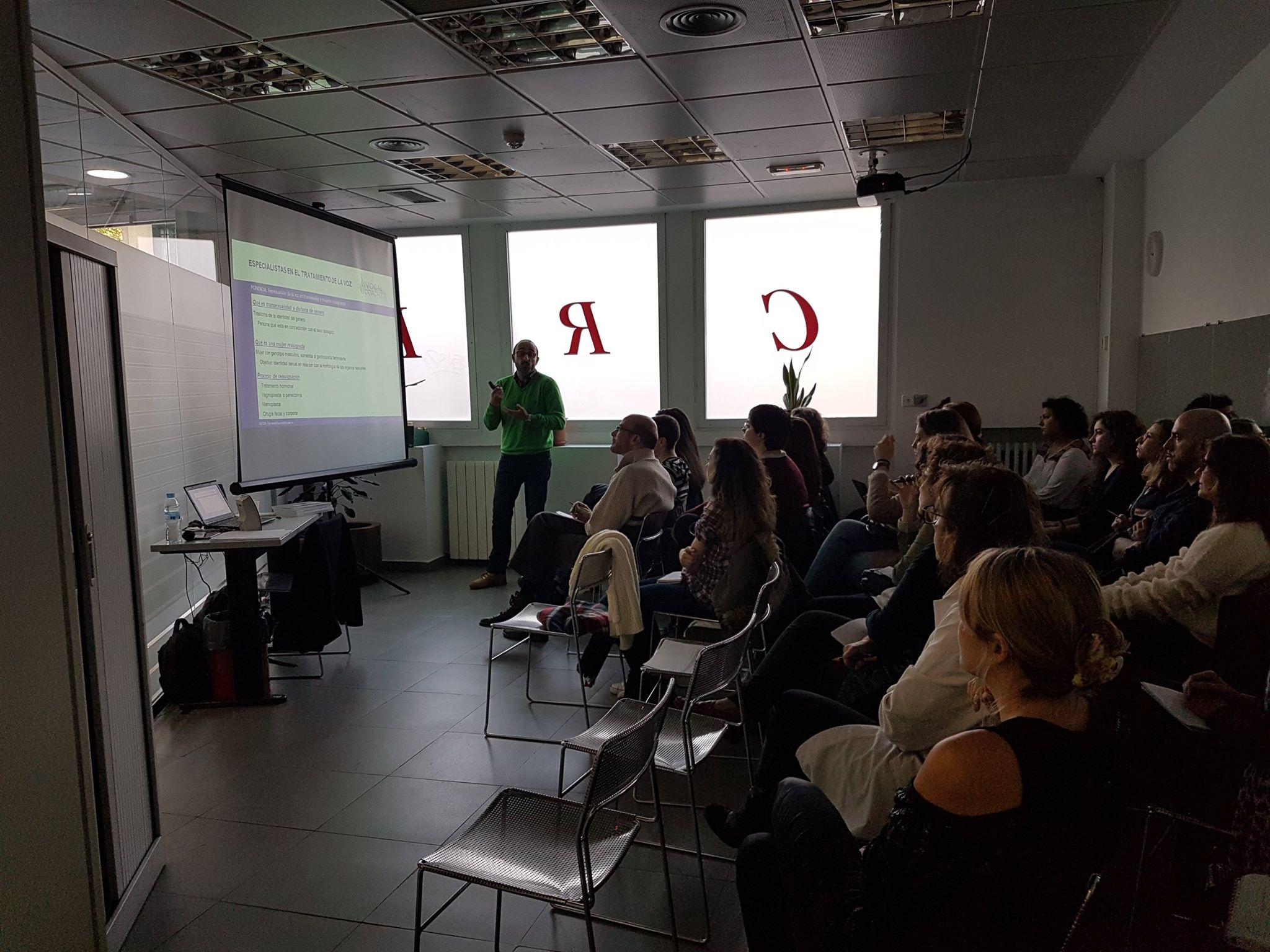 taller feminización de la voz madrid