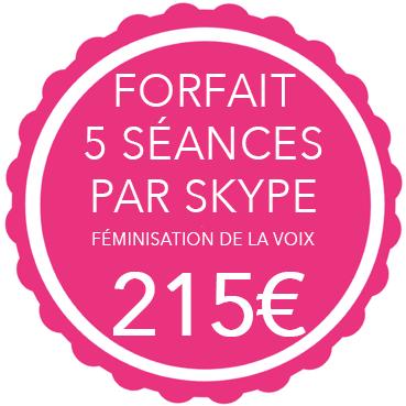 traitement de féminisation de la voix par skype