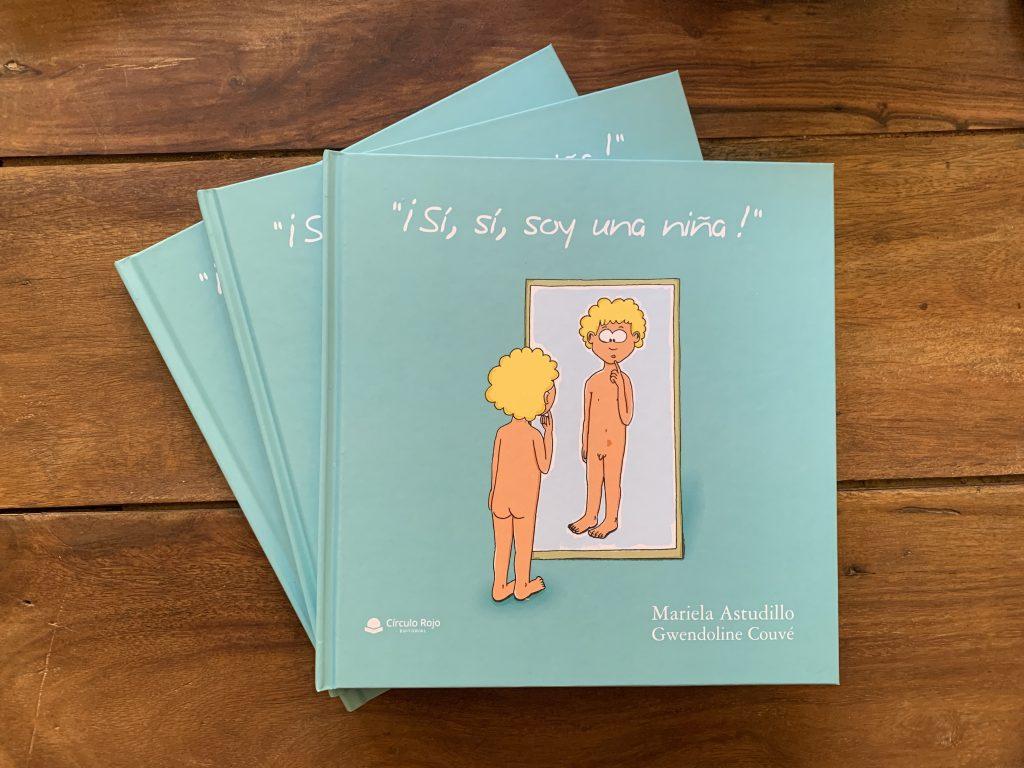 Libro infantil transgeneridad