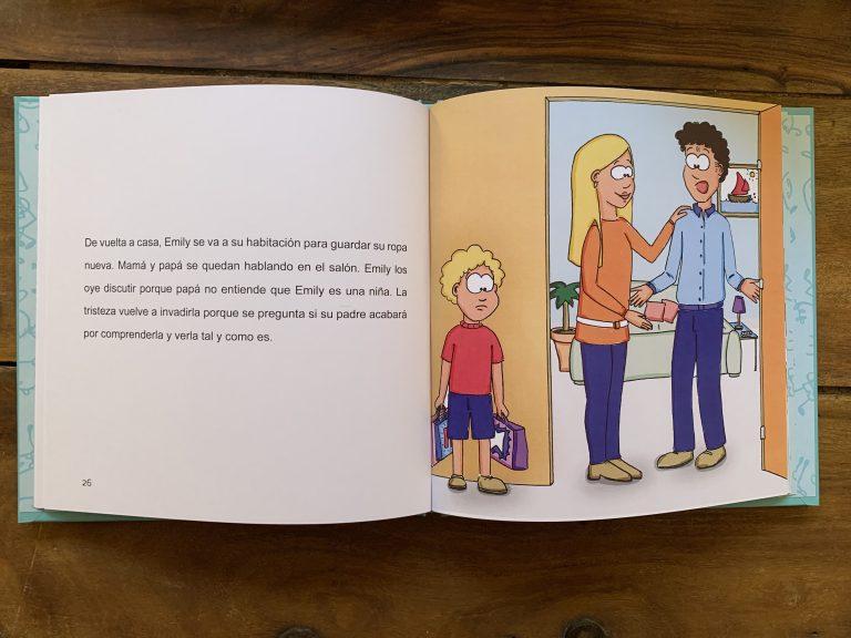 Libro para niños sobre la transgenridad