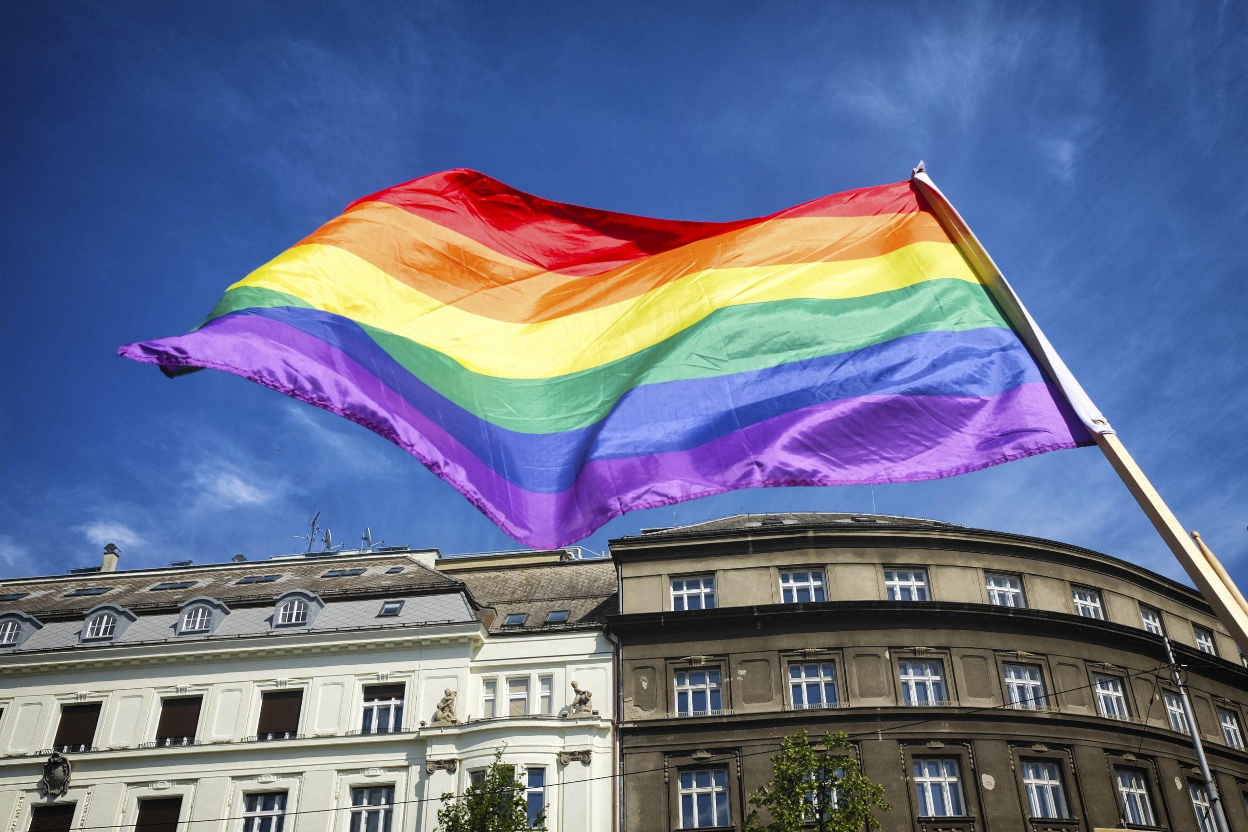 Bandera LGBT Mes del orgullo